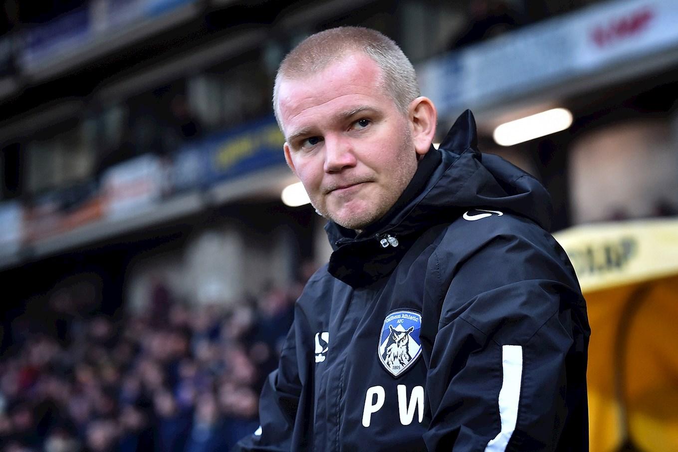 Oldham caretaker Pete Wild